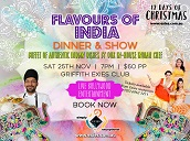 Flavours of India - Dinner and Show