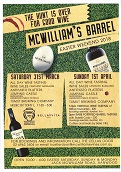 McWilliam's Barrel Easter Weekend 2018