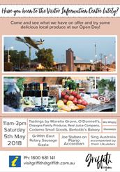 Visitor Information Centre Open Day