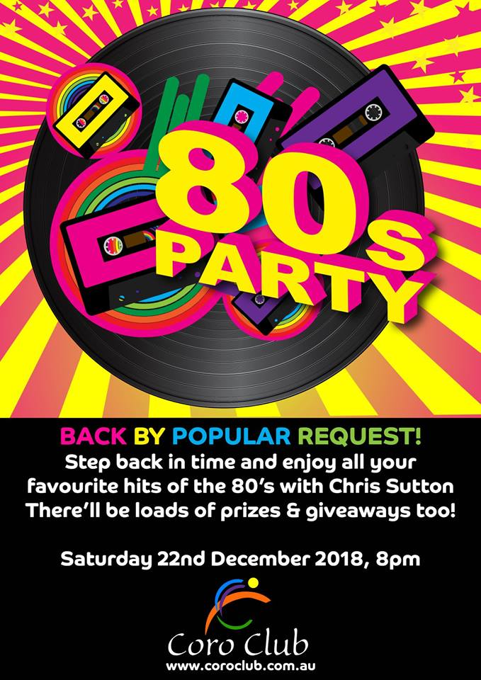 80's Party at The Coro Club