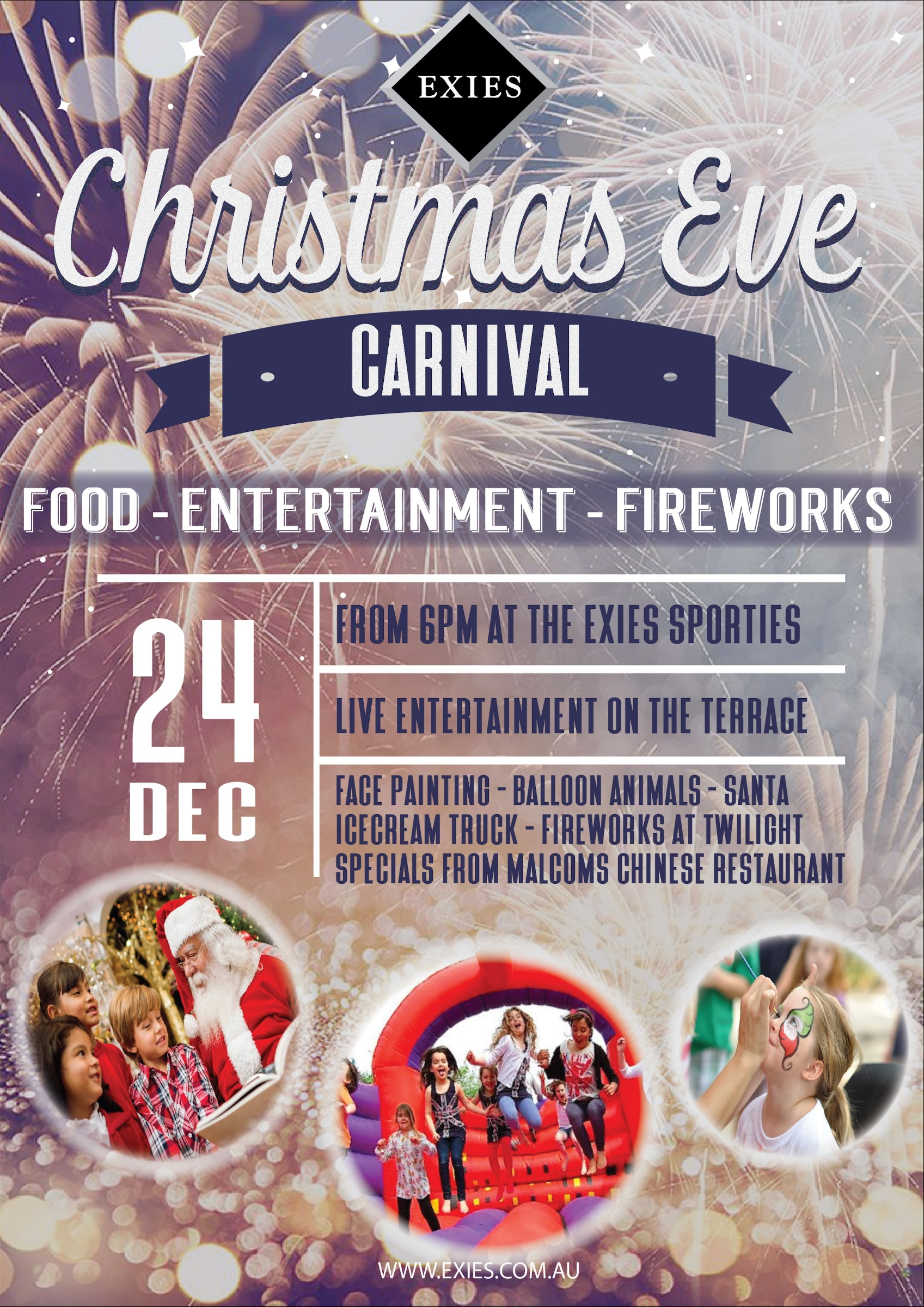 Christmas Eve Carnival at the Sporties