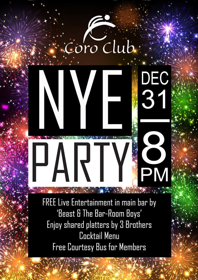 New Year's Eve at The Coro Club