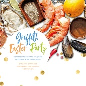 Fresh Seafood Buffet at the Exies