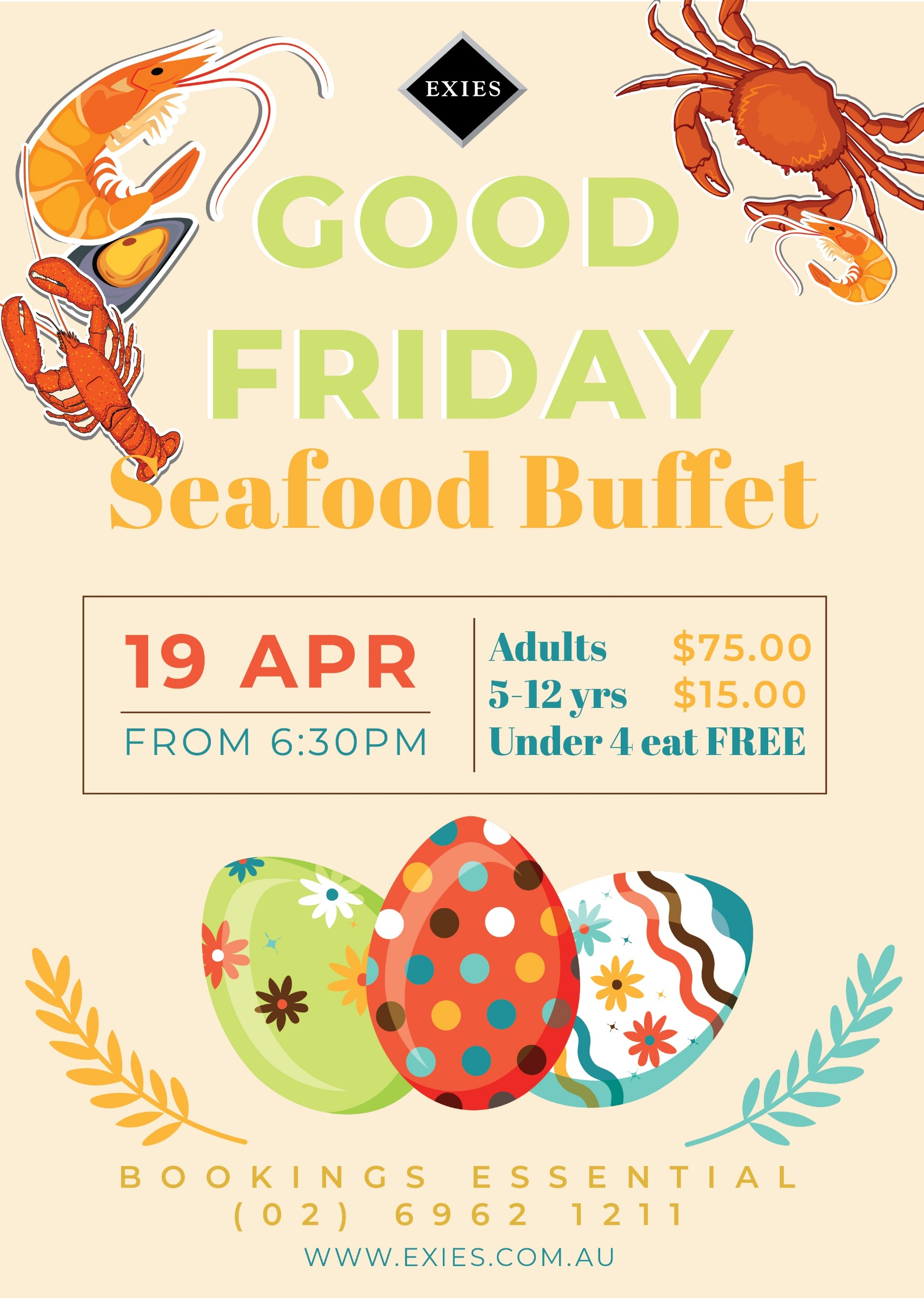 Good Friday Seafood Buffet