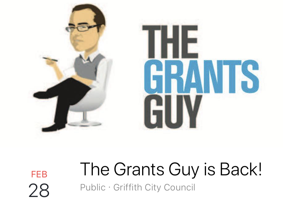The Grants Guy is Back!