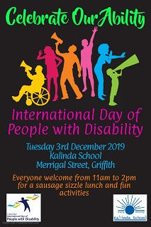 Kalinda School Celebrates International Day of People With Disability