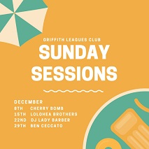Sunday Sessions at Griffith Southside Leagues Club