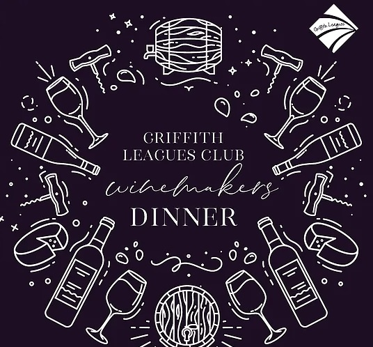 Griffith Leagues Club Winemaker's Dinner