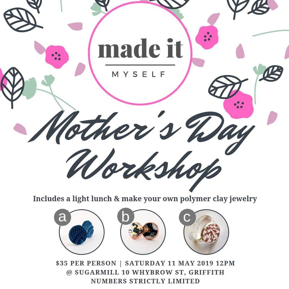 "Mother's Day ""Made it Myself"" Jewellery Making Workshop"