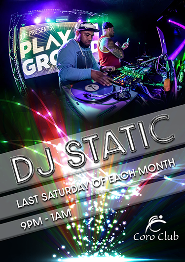 DJ Static @ The Coro Club