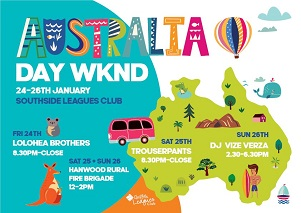 Australia Day Weekend @ The Leagues Club