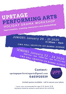 Holiday Drama Workshops