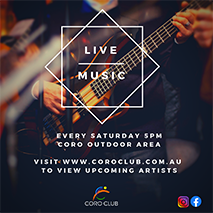 Live Music at The Coro Club
