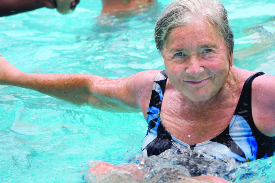 Check out one of our great Water Aerobics classes