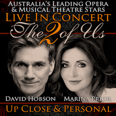 Marina Prior and David Hobson - The 2 Of Us