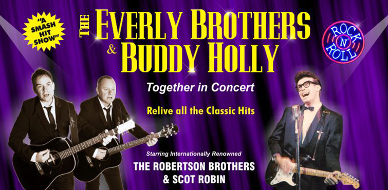 Everly Brothers & Buddy Holly Show