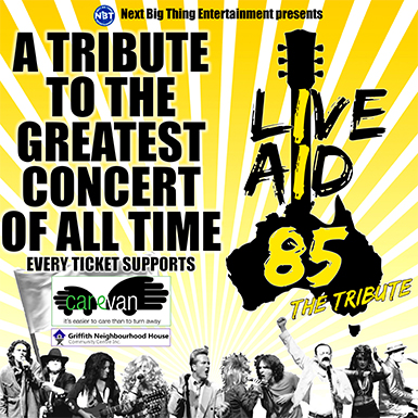 LIVE AID 85 - THE TRIBUTE