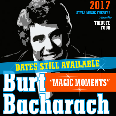 Burt Bacharach 'Magic Moments'