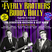 The Everly Brothers and Buddy Holly Show