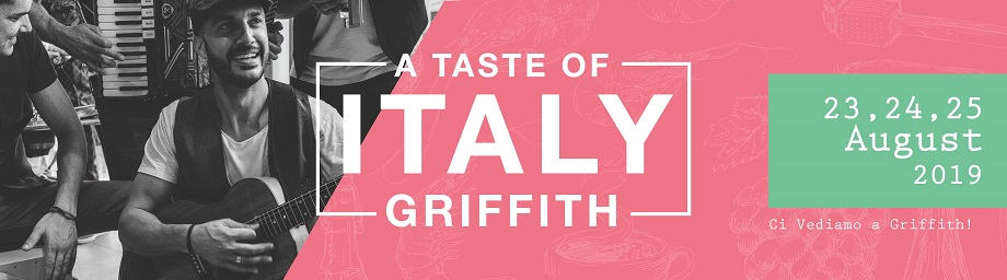 A Taste of Italy: Griffith 2019 Program